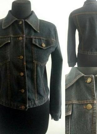 Джинсова курточка. розмір м.куртка джинсовая