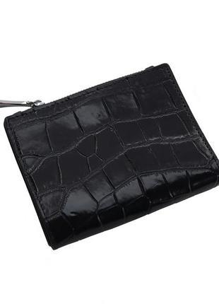Кошелек из кожи крокодила ekzotic leather черный (cw 88)