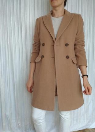 Стильное пальто шерсть кашемир
