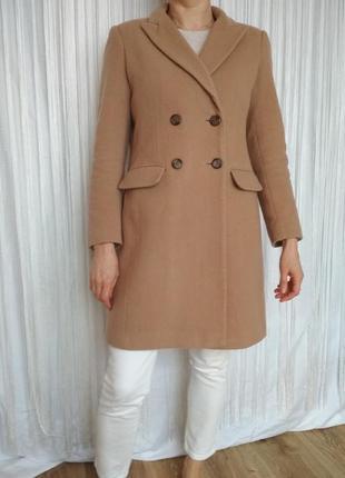 Стильное пальто шерсть кашемир2 фото