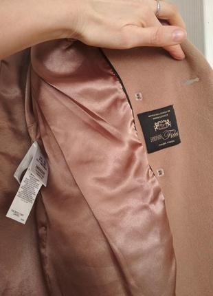 Стильное пальто шерсть кашемир8 фото