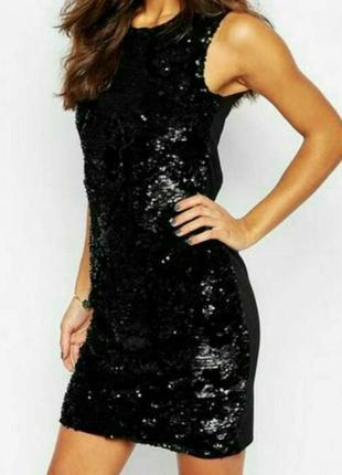 Вечернее платье в пайетки jennyfer p. s