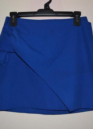 Стильная юбка zara. размер 36 (s).