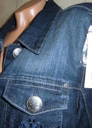 Суперовый джинсовый пиджак!!5 фото