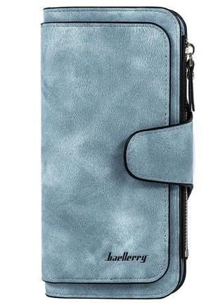 Женский кошелек портмоне baellerry forever (n2345) голубой