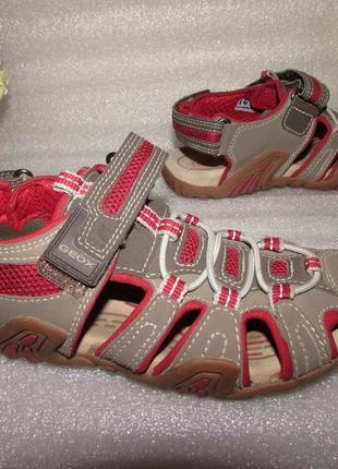 Качественные босоножки сандалии для мальчика ~geox~ р 32