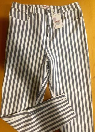Шикарные джинсы бойфренд 👖kontatto италия 🇮🇹 р.44{xl},новые.