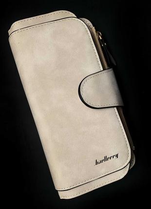 Тренд 2019 / изумительный замшевый кошелек портмоне baellerry / клатч