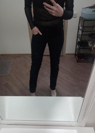 Чёрные джинсы warehause s-xs