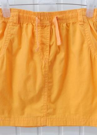 Детская хлопковая юбка lupilu