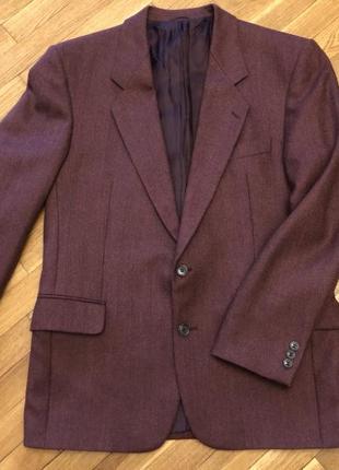 Очень классный шерстяной пиджак. зима, весна, осень. от немецкого бренда pierre laffitte.
