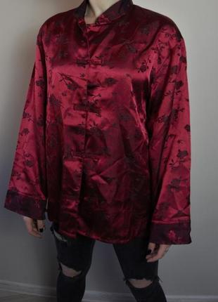 Китайская пижамная рубашка как у луны :)