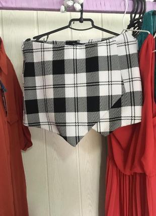 Шорты юбка new look 8 размер