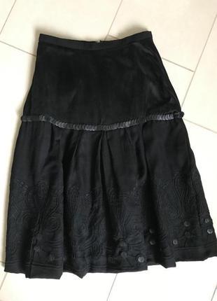 Юбка стильная модная дорогой бренд leon размер 36 или s