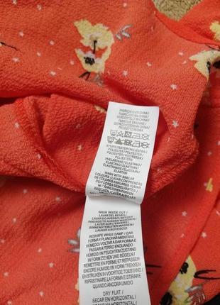 Брендовая нежная блуза с завязками и на резинке primark10 фото