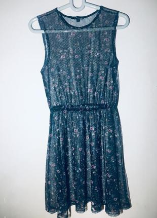 Платье-сетка от tally weijl