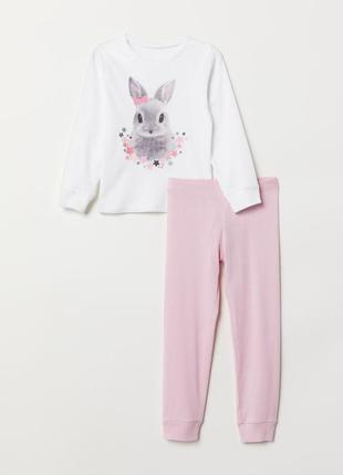 Костюмчик-пижамка h&m 4-6y (110-116см)