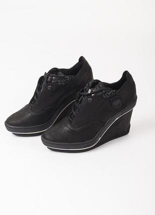 Sale туфли на платформе кожаные pataugas