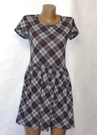 Платье в клетку new look , р.42-44