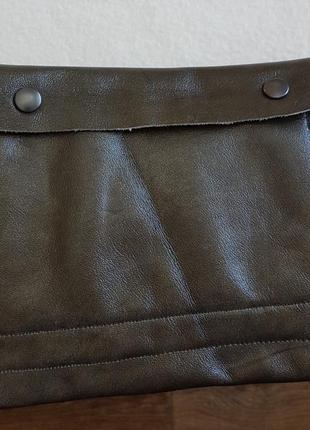 Кожаная барсетка портмоне