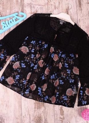 Комбинированная блуза primark