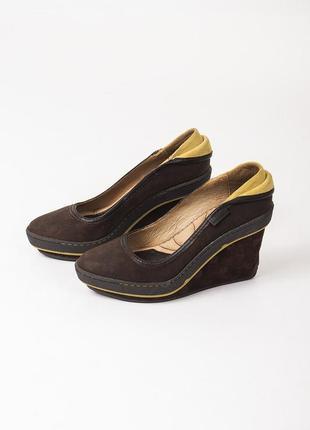 Sale туфли кожаные на платформе pataugas