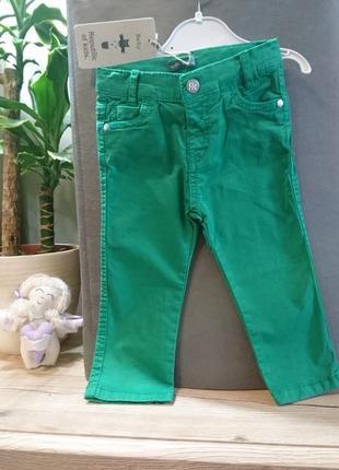 Яркие зелёные джинсы canada house ❤️