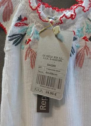 Красивая блуза на малышку canada house ❤️2 фото