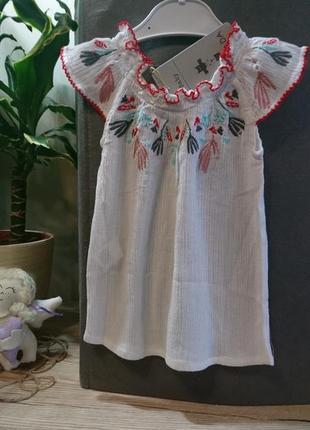 Красивая блуза на малышку canada house ❤️3 фото