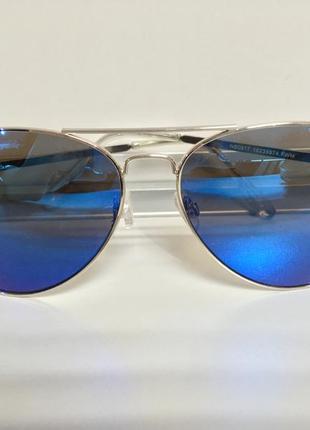 Мужские подростковые солнцезащитные очки trend модель капля 100% uv защита не реплика3 фото