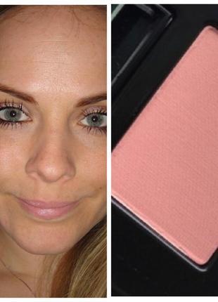 Стойкие румяна розово-персиковый оттенок lancome blush subtil sheer amourose мини