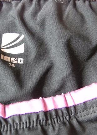 Жен.укороченные лосины леггинсы капри для спорта inoс8