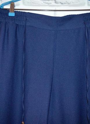 Стильные темно-синие брюки, р. 18.5
