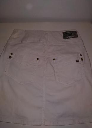 Белая котоновая юбка tommy hilfiger3