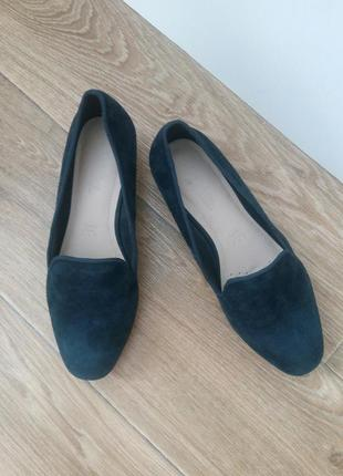 Туфли лоферы,натуральный замш от footglove.1