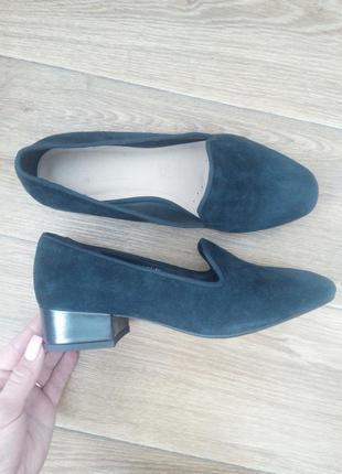 Туфли лоферы,натуральный замш от footglove.3