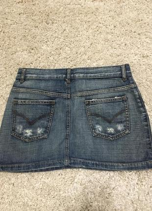Юбка джинсовая2