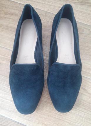 Туфли лоферы,натуральный замш от footglove.6