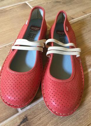 Удобные кожаные балетки слипоны onfoot 38 р1