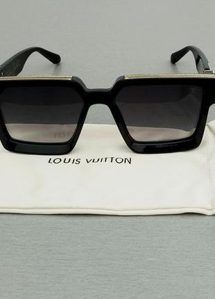 Louis vuitton очки женские солнцезащитные очки большие прямоугольные1
