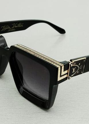 Louis vuitton очки женские солнцезащитные очки большие прямоугольные2