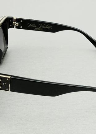 Louis vuitton очки женские солнцезащитные очки большие прямоугольные3