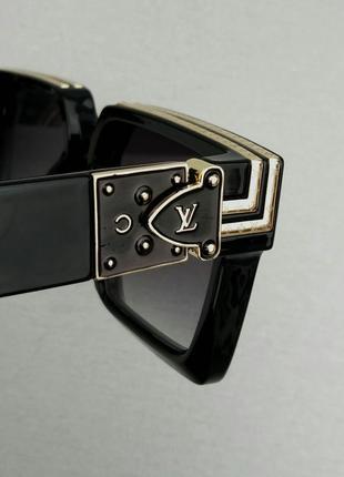 Louis vuitton очки женские солнцезащитные очки большие прямоугольные8