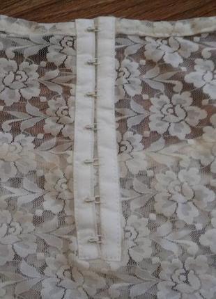 Ажурная  блуза кофточка5
