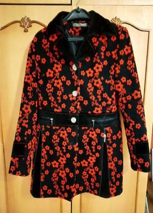 Пальто драповое осень-весна1