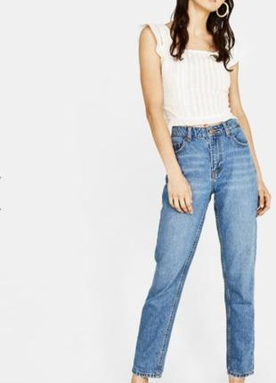 Нереально крутые джинсы мом от bershka1