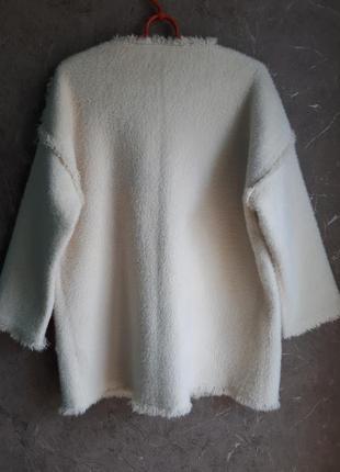 Нереально крутое полупальто- кардиган шубка new fashion3