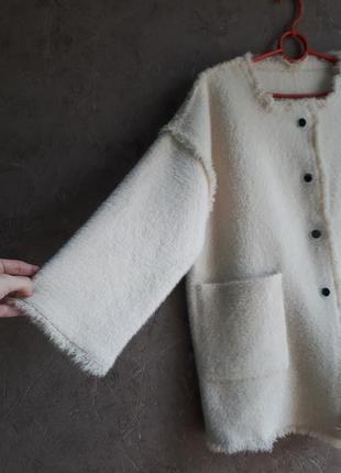 Нереально крутое полупальто- кардиган шубка new fashion6