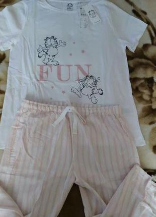 Распродажа! пижама со штанами капри women secret, размер м