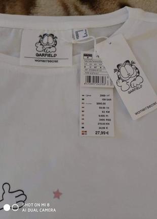 Распродажа! пижама со штанами капри women secret, размер м2